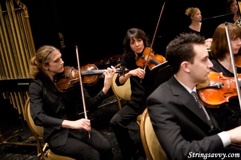 Fox Valley Philharmonic Orchestra Violin Section